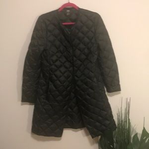 Uniqlo sz m puffer button up jacket